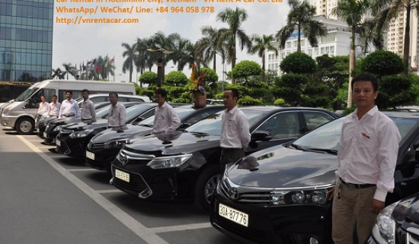 Car rental from Ho Chi Minh City to Ben luc