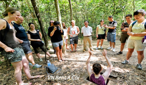 Car rental for Cu Chi Tunnels